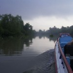 Mekong im Nebel